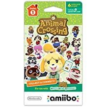 AMIIBO CARDS ANIMAL CROSSING SERIES 1 - PACK C/ 6