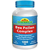 Bee Pollen Complex 1000 mg 120 Tablets by Nova Nutritions