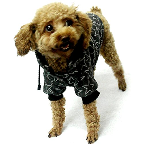 Alfie Pet by Petoga Couture - Mason Active Hoodie - Color: Grey, Size: Small ()