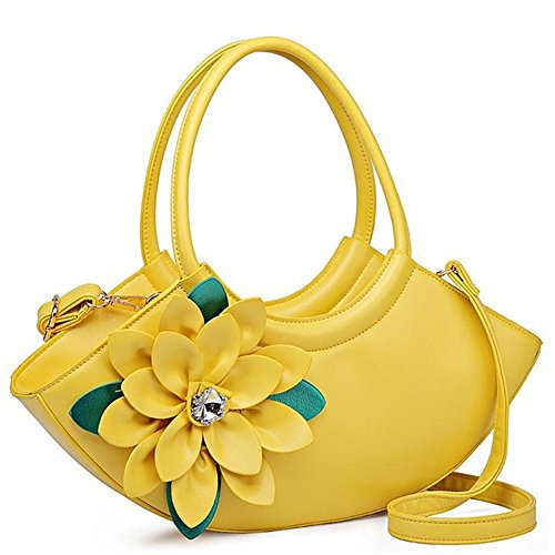 Woman Meaeo Evening Bag Green Gold Handbags Totes Bag Female Leather Ladies Women New qqrwF5