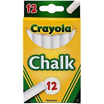 Crayola White Chalk 12 Ea (Pack Of 2)