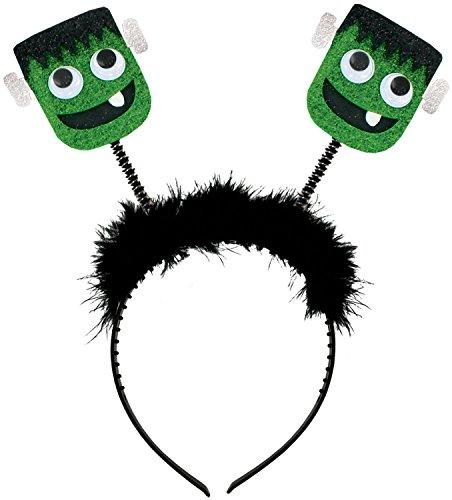 Glitter Jitter Halloween Bobble Frankenstein's Monster Headband
