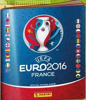 Panini Euro 2016 France Stickeralbum komplett