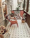 Jewel Tile Stencil - Reusable Tile Stencils for