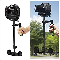 IMORDEN S-60c Handheld Camera Stabilizer for Canon, Sony and DSLR cameras(2-6lbs) with Quick Release Plate and Balance Weights(200g,100g, 50g)