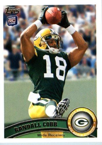 2011 Topps Football Card 149 Randall Cobb Rc Green Bay