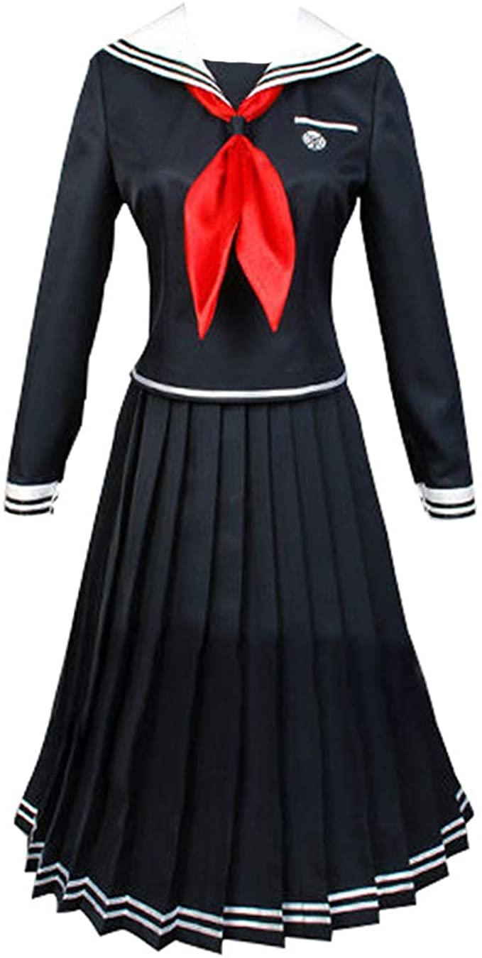 1900s, 1910s, WW1, Titanic Costumes Gegexli Anime Danganronpa Cosplay Costumes Touko Fukawa Uniforms Halloween Party $33.99 AT vintagedancer.com