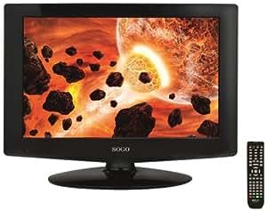 """Sogo TV-SS-1616 16"""" HD ready Negro LED TV - Televisor (HD, 16:9, 1366 х 768, 500:1, Negro, 1366 x 768 Pixeles)"""