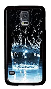 Samsung Galaxy S5 Water Drop 08 PC Custom Samsung Galaxy S5 Case Cover Black