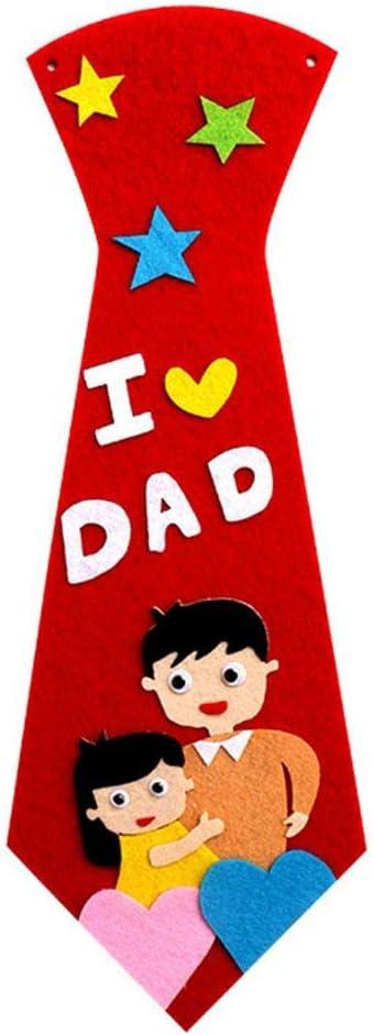 FONEE - Corbata de Bricolaje para niños, Manualidades para niños ...