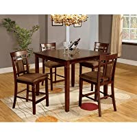 Wilton 5 Piece Counter Height Dining Set
