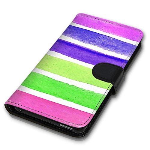 Wallet Book Style Flip Handy Tasche Case Schutz Hülle Schale Motiv Etui für Apple iPhone 6 / 6S - Design Flip MVD49
