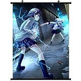 Angel Beats! Anime Wall Scroll Poster Misaka Mikoto Tachibana Kanade(35''*47'') Support Customized