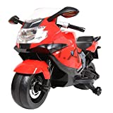 Hoverheart BMW Motorcycle Licensed Kids Ride On Toys Electric Scooter (Red)