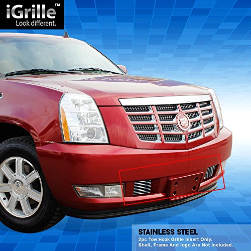 Cadillac Escalade Billet Grill (eGrille Stainless Steel Bumper Billet Grille Grill Insert Fits 2007-2014 Cadillac Escalade)