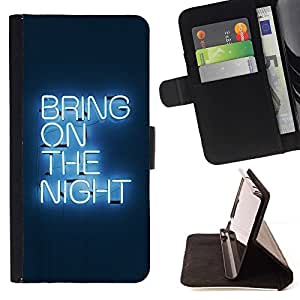 DEVIL CASE - FOR LG G3 - Bring On The Night Neon - Style PU Leather Case Wallet Flip Stand Flap Closure Cover