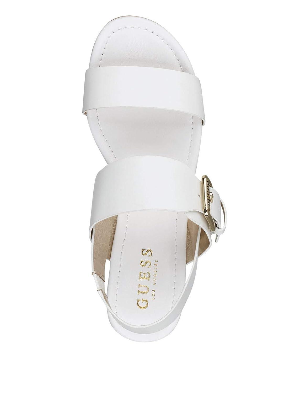 GUESS Factory Womens Anne Platform Sandals