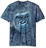 The Mountain Smiling Gorilla Adult T-Shirt, Blue, 2XL