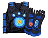 Wild Kratts Creature Power Suit, Martin - Size Large 6-8X - Includes Vest, Gloves and 2 Power Discs - for Dress Up, Pretend Play and Halloween - Ages 3+