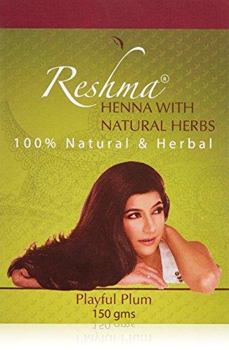 Reshma Beauty Classic Henna Hair Color, Playful Plum (Henna Based Hair Color)