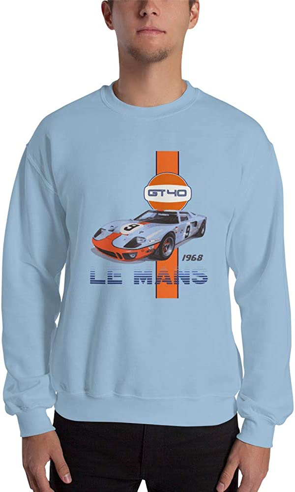 1968 Ford GT40 Race Car Unisex Sweatshirt