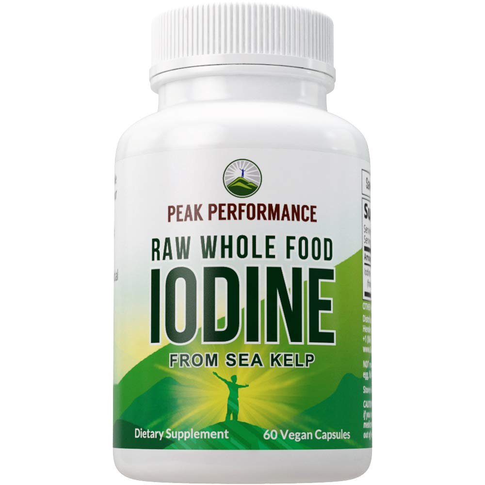 Raw Whole Food Iodine from Organic Kelp