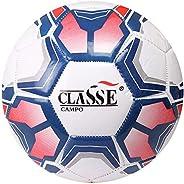 Bola De Futebol De Campo Society Jogo Durável Couro Sintético Com Costura Número 5