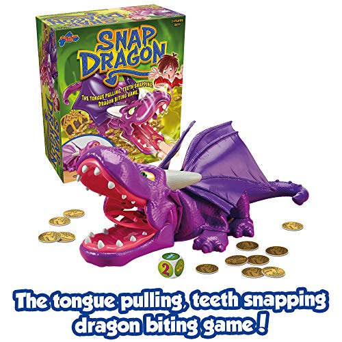 TOMY Snap Dragon Action Board Game for Kids, Multi (T73039A1)