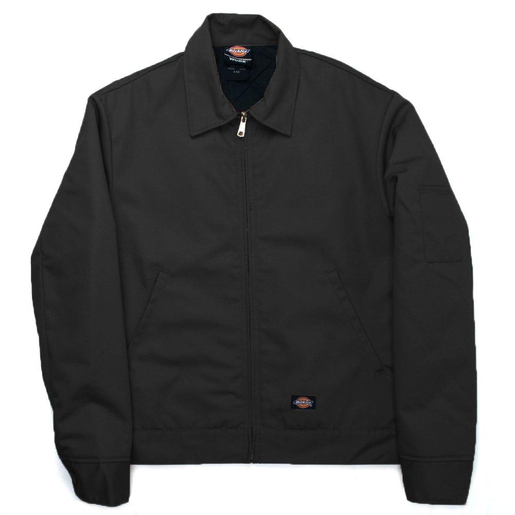Dickies Men's Insulated Lined Eisenhower Jacket Style # TJ15 Black by dickies
