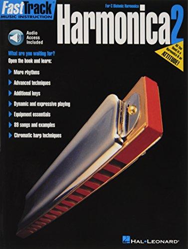 Harmonica Method Book - FastTrack Harmonica Method Book 2 (FastTrack Music Instruction)