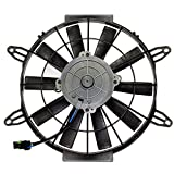 Caltric Radiator Cooling Fan Motor for Polaris