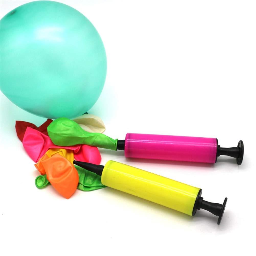JZTRADING Luftballonpumpe Handpumpe Tragbare Inflator-Stick Manueller Inflator Ballonpumpe