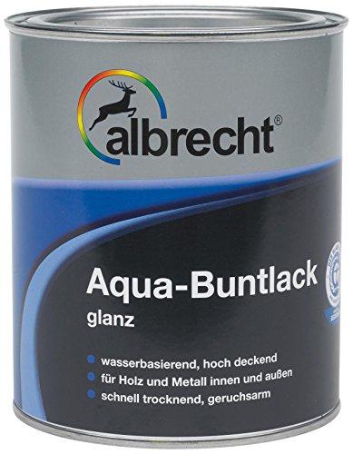 Albrecht Aqua-Buntlack glanz RAL 7035 375 ml, grau, 3400505900703500375