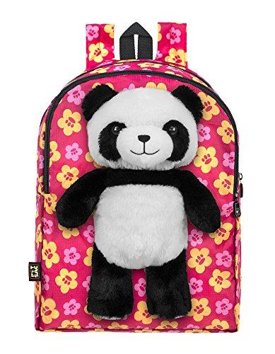 PetSac Panda Pink Flowers, Pink, One Size
