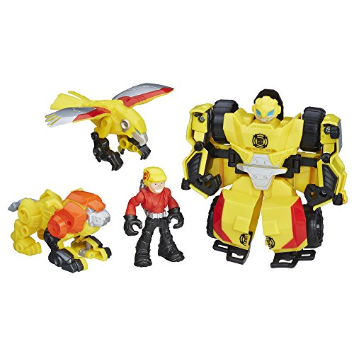 Playskool Heroes Transformers Rescue Bots Bumblebee Rock Rescue Team from Playskool