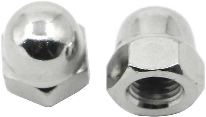 Tuerca de acero inoxidable FullerKreg M8-1.25 DIN 1587 A2 20 unidades