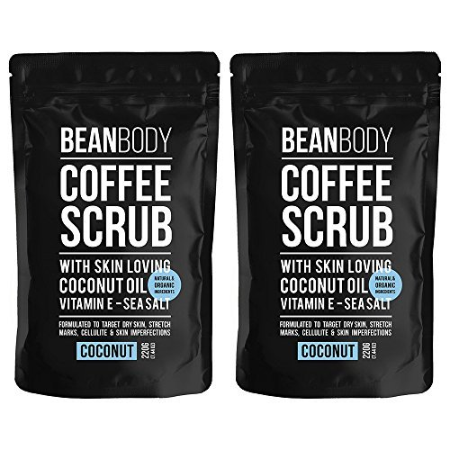 Mr. Bean Body Coffee Scrub With Coconut Oil Coconut 220g'Pack of 2'