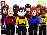 Clip: Custom LEGO Star Trek Minifigures