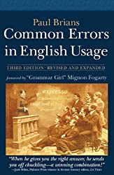Common Errors in English Usage: Third Edition by Brians, Paul (2013) Paperback