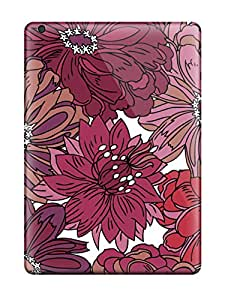 New Pretty Flower Ink Drawing Tpu Case Cover, Anti-scratch YSeMUBY5141YjrWN Phone Case For Ipad Air