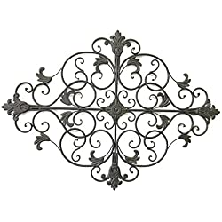 Cheap-Chic Decor Nicci Tuscan Diamond Shaped Iron Wall Grille