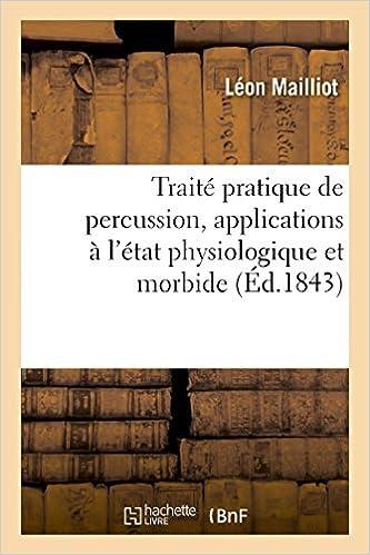 Livre Traité pratique de percussion pdf