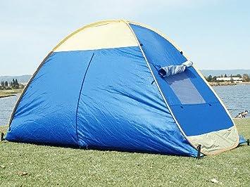 BRILLIANT BLUE POP UP FAMILY CABANA TENT SUN WIND SHELTER BEACH TENT & Amazon.com: BRILLIANT BLUE POP UP FAMILY CABANA TENT SUN WIND ...