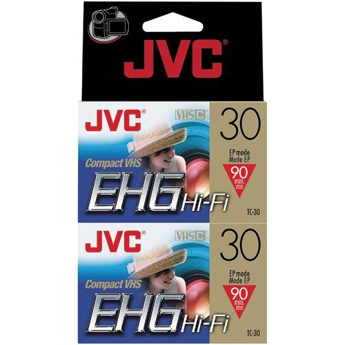 Discover Bargain JVC Tc30Ehgdu2 30-Minute Vhs-C Video Tape (2-Pk) (Discontinued by Manufacturer)