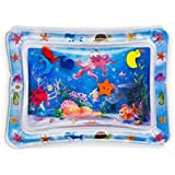 Tummy Time Premium Water Mat Infants & Toddlers baby toys play mate, water toy, learn and education, early development,