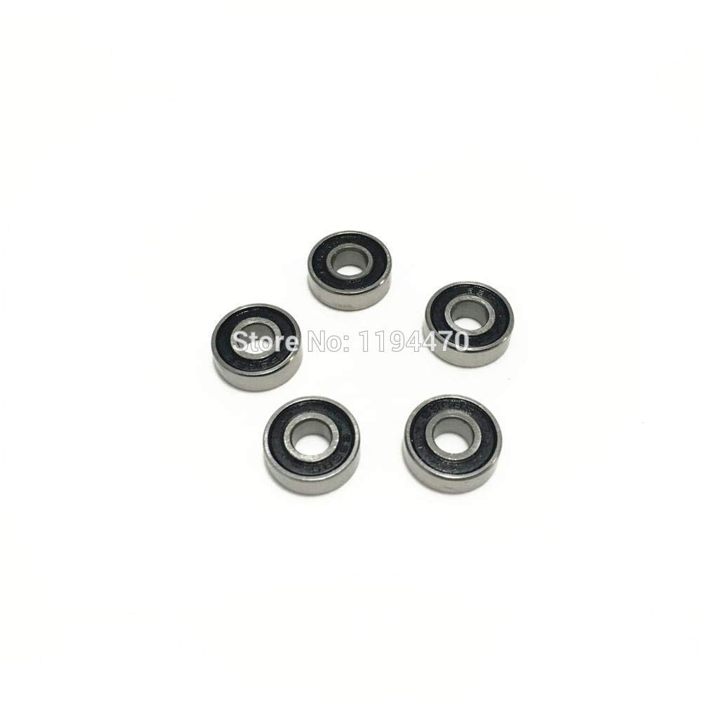 5PCS 688-2RS 688 RS Rubber Sealed Ball Bearing Miniature Bearings 8x16x5mm