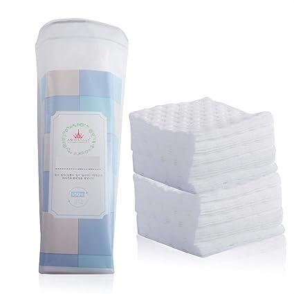 Limpieza de algodón Algodón cosmético del removedor del cojín de algodón de las almohadillas faciales orgánicas