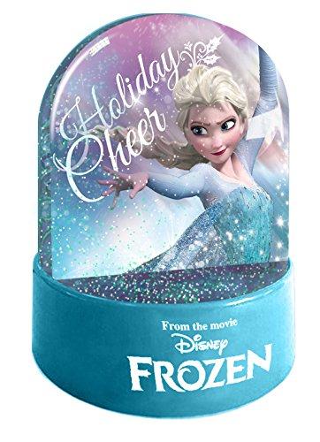 9/x 7/x 7/cm Blu Disney Frozen Palla dacqua e glitter 1/pezzo Vetro