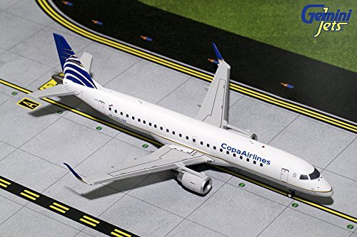 Geminijets 1 200 Scale Copa Airlines Embraer 190 Airplane Model