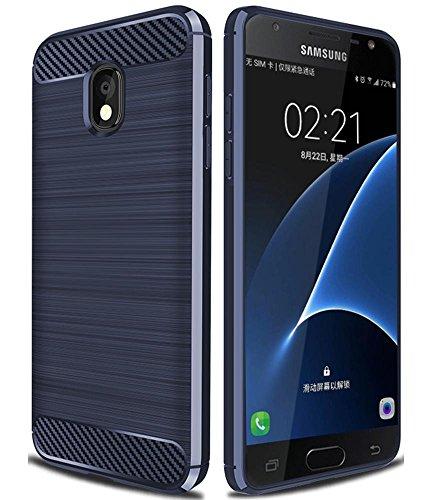 Galaxy J7 2018 Case,Galaxy J7 Refine Case,Galaxy J7 Star Case,Galaxy J7 V 2nd Gen Case,J7V 2018 Case,Asmart Shock Absorption Slim TPU Cover Bumper Phone Case for Samsung Galaxy J7 2018 (Blue)